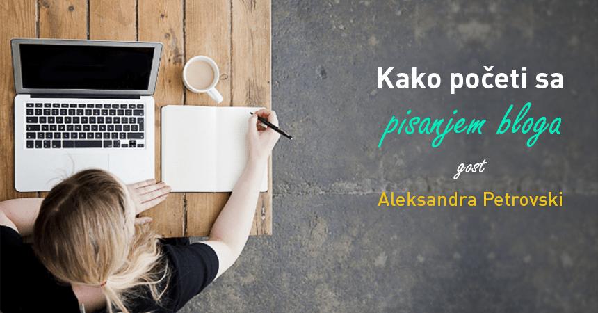 Kako početi sa pisanjem bloga?