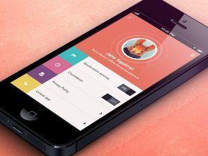 Flat boje na mobilnim aplikacijama